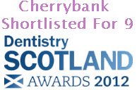 Cherrybank Shortlisted for 9 Dentistry Scotland Awards