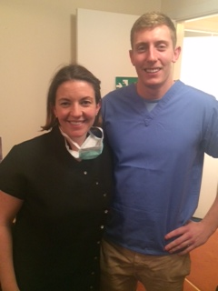 Guest Blog from Josh, a young dentist shadowing Dr Halley