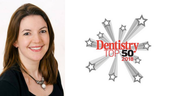 Dr. Elaine Halley – Dentistry.co.uk Top 50 Influencers of UK Dentistry