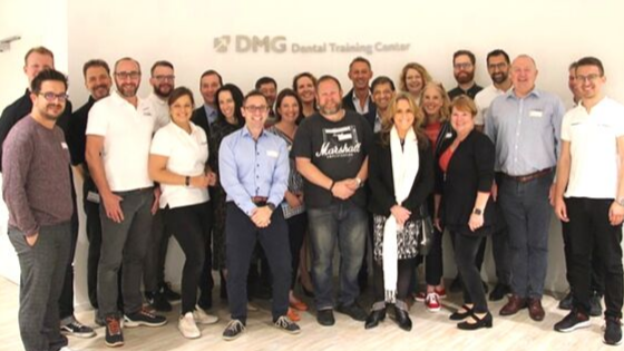 DMG, Hamburg – Dr Elaine Halley alpha tests new digital dentistry software
