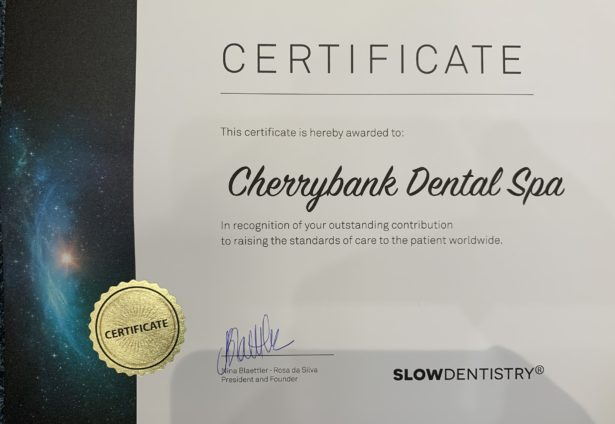 Perth dentist accredited as part of the Slowdentistry Global Network